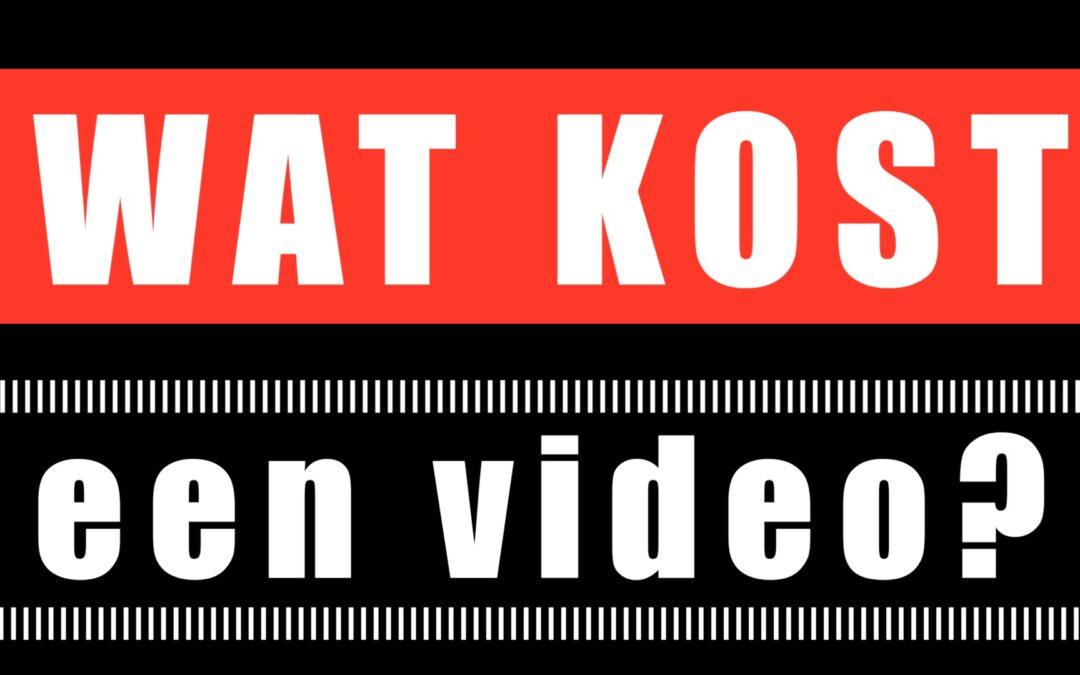 Wat kost een video?
